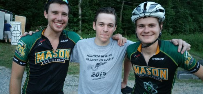 New school year, new team mates, and mountain biking